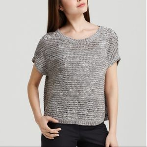 Eileen Fisher Wonder Stitch Pullover Grey—M